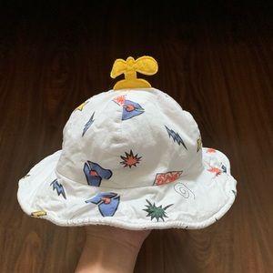 Baby Unisex Bucket Hat, 6-12M